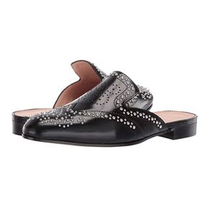 J. Crew Studded Academy Leather Loafer Mules 11